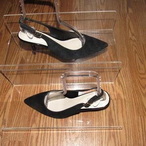 ALFANI Babbsy Pointed Toe Slingback  Pumps Heels 8